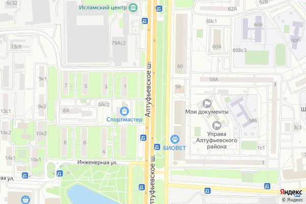 Ремонт телевизоров Алтуфьевское шоссе на яндекс карте