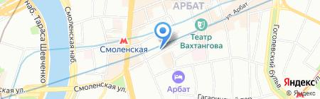 Hard Rock Cafe на карте Москвы