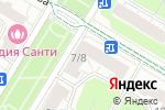 Схема проезда до компании Московская городская единая коллегия адвокатов в Москве