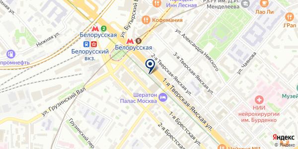 ПРЕДСТАВИТЕЛЬСТВО ФАРМАЦЕВТИЧЕСКАЯ КОМПАНИЯ ICN на карте Москве