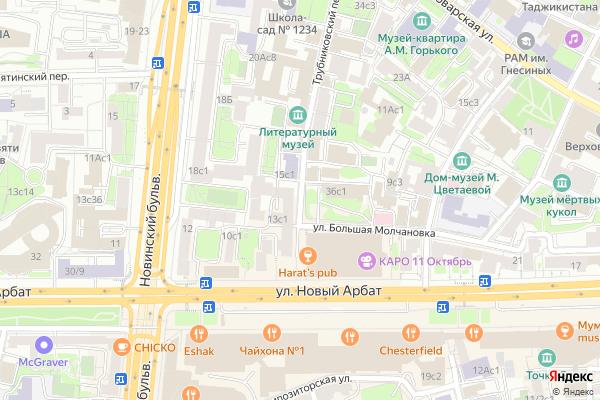 Ремонт телевизоров Трубниковский переулок на яндекс карте