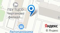 Компания Чертаново Южное на карте