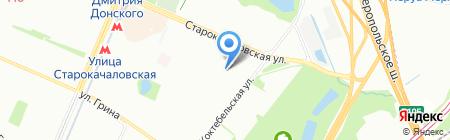 Рейликон на карте Москвы
