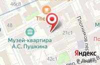 Схема проезда до компании Имэджинейтив в Москве