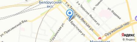 РЕГИОН-ТРАСТ на карте Москвы