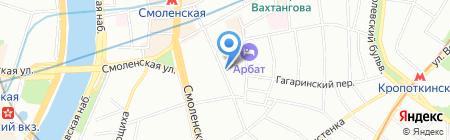Cantinetta Antinori на карте Москвы