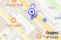 Схема проезда до компании БИЗНЕС-ЦЕНТР ПАРУС в Москве