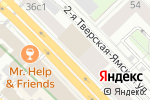 Схема проезда до компании Кредит Европа банк в Москве