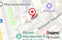 Схема проезда до компании Инфинитив в Москве