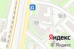 Схема проезда до компании Лидер Дент в Москве