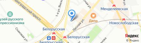 Aveco на карте Москвы