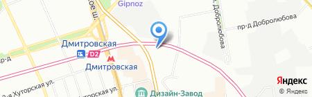 ФАТ Компоненты на карте Москвы