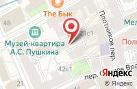 Схема проезда до компании Арбатский в Москве