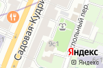 Схема проезда до компании Усадьба на Кудринской в Москве