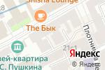 Схема проезда до компании Табра в Москве