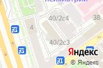 Схема проезда до компании Аргентум в Москве