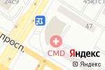 Схема проезда до компании Ногти.рф в Москве