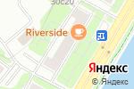 Схема проезда до компании Кухни Франции в Москве