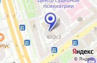 Схема проезда до компании ТФ КОРПОРАТИВНЫЙ МЕНЕДЖМЕНТ в Москве