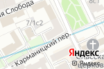 Схема проезда до компании Just nails в Москве