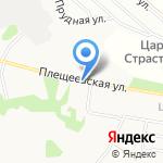 Киоск по продаже хлебобулочных изделий на карте Подольска
