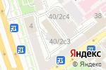 Схема проезда до компании Мирос в Москве
