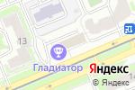 Схема проезда до компании Mart-motors в Москве