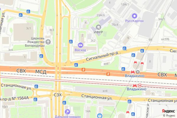 Ремонт телевизоров Сигнальный проезд на яндекс карте