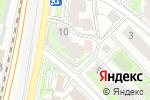 Схема проезда до компании Famy Dance Center в Москве