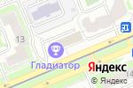 Схема проезда до компании Моя ты рыба в Москве