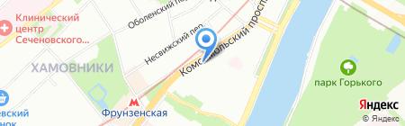 БАЛОВЕНЬ на карте Москвы
