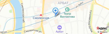 NEC TRAVEL на карте Москвы