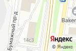 Схема проезда до компании Дом в Европе в Москве