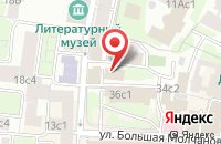 Схема проезда до компании Фирма «Петит» в Москве