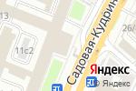 Схема проезда до компании Алладин-авто в Москве