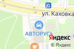 Схема проезда до компании O-parts в Москве