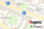 Схема проезда до компании La шаурмуа в Москве