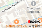 Схема проезда до компании Радеус в Москве