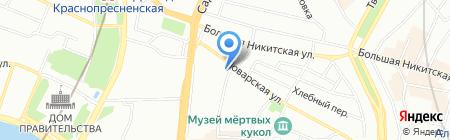 СфераСтрой на карте Москвы