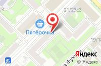 Схема проезда до компании Стил Хаус в Москве