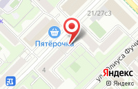 Схема проезда до компании Аллегро в Москве