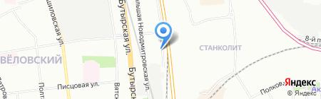 ПродэксГрупп на карте Москвы