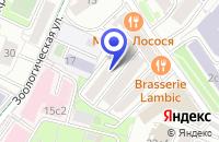 Схема проезда до компании ТФ КЛИМАТИМПЕКС в Москве