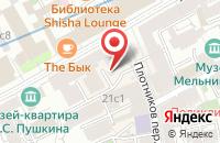 Схема проезда до компании Сапфир в Москве