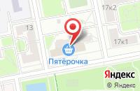 Схема проезда до компании ЭлитТорг в Москве