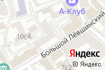 Схема проезда до компании Гранд Балет в Москве