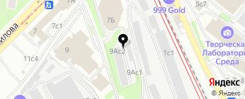 MS-avto на карте Москвы