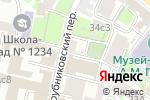 Схема проезда до компании АБИТУС в Москве