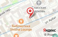 Схема проезда до компании Инженерная Служба Района Арбат в Москве