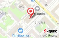 Схема проезда до компании Смр в Москве